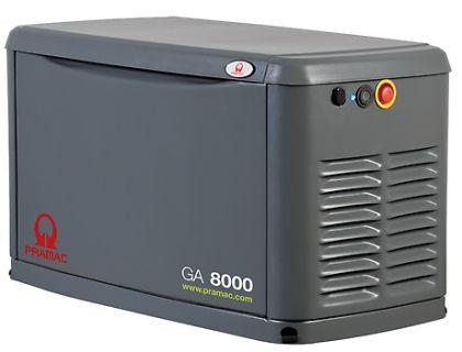 ГАЗ  ГЕНЕРАТОР  PRAMAC GA8000
